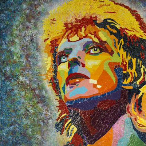 David Bowie yellow