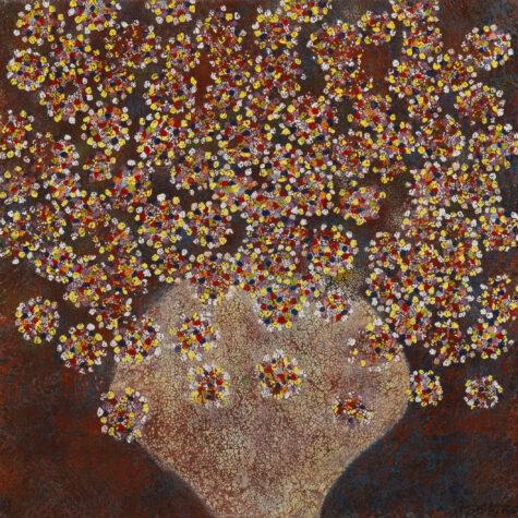 Frammenti floreali 2 cm.80×80