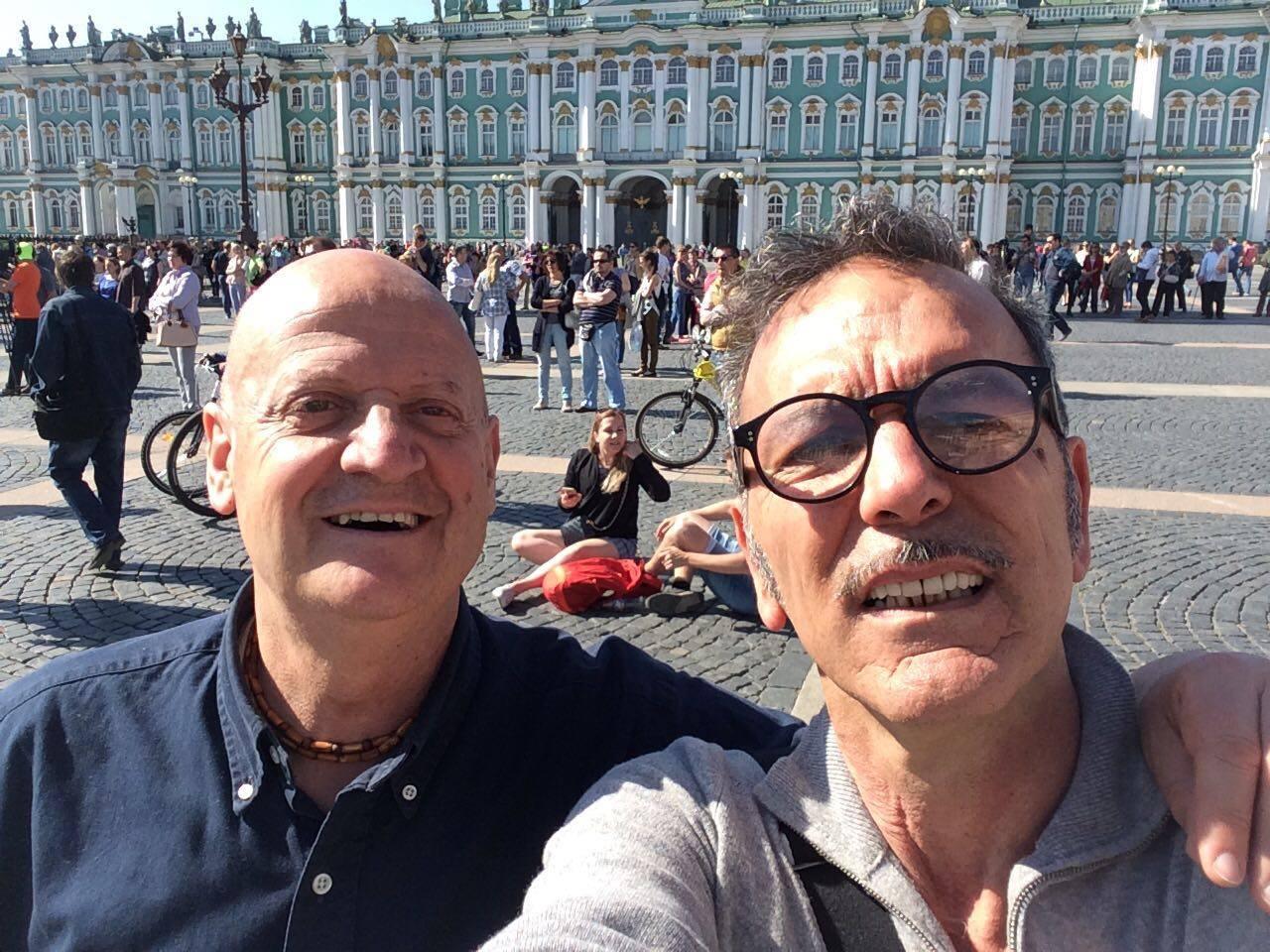 Città di Castello: Gli artisti Giampaolo Tomassetti e Patrizio Landolfi alla Pushkinskaya Art Residency di San Pietroburgo