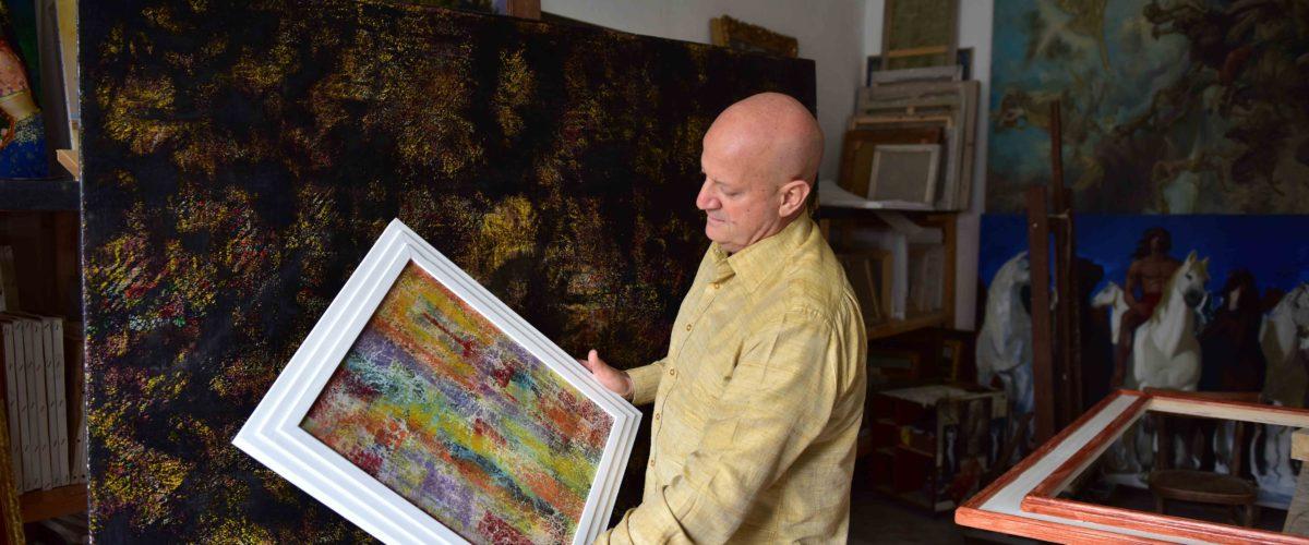 Patrizio Landolfi nello Studio