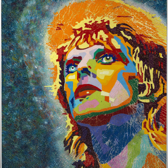 David Bowie cm 110 x 120