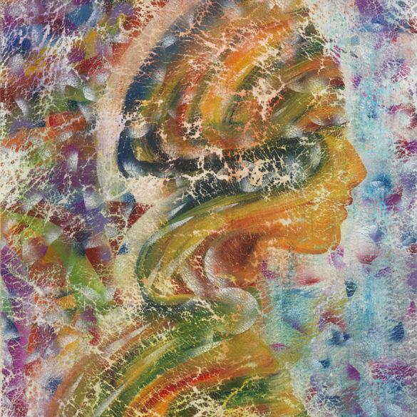 Profilo di donna cm.60×90